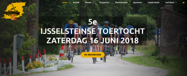 Studio Pilon - IJsselsteinse Toertocht website