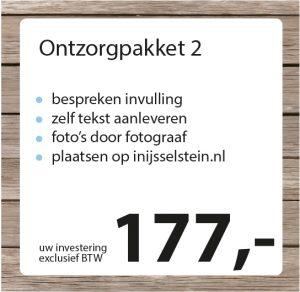 Ontzorgpakket 2 - Studio Pilon