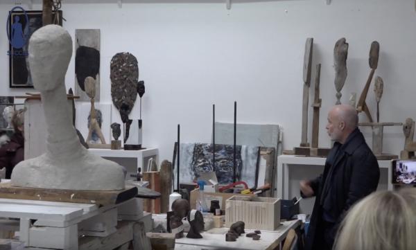 Studio Pilon - atelier Mart Visser - event video Astrid Mast